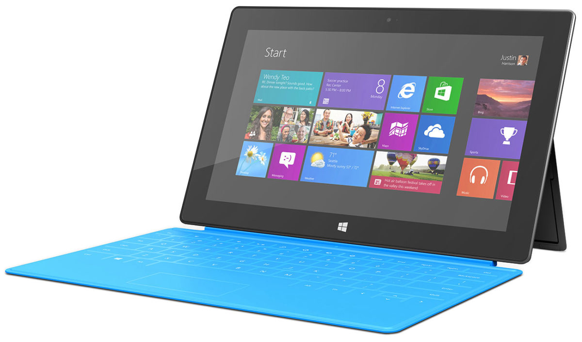 microsoft surface avec windows rt 1200x705 - Microsoft corrige en douce une faille permettant d'utiliser GNU/Linux sur les tablettes Windows RT