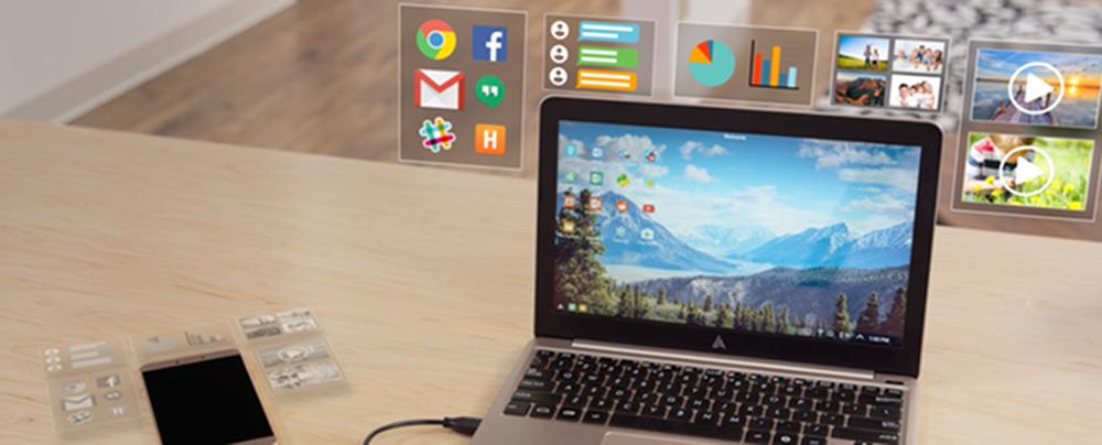 Le Superbook transforme tout Smartphone Android en ordinateur