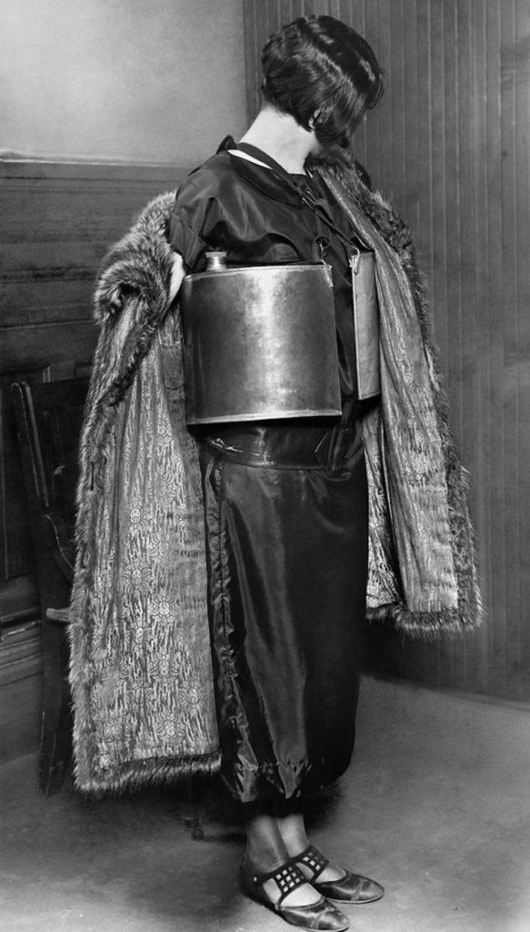 april 10 1924 jennie macgregor was arrested by minneapolis police for dispensing alcoholic beverages from life preserver flasks 583x1024 - April 10, 1924 – Jennie MacGregor was arrested by Minneapolis police for dispensing alcoholic beverages from life-preserver flasks.