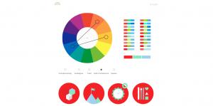 Color Supply 300x149 - 5 outils de création de palettes de couleurs pour le Web design